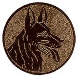 Herdershonden afbeelding voor medailles en trofeeën brons