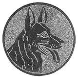 Herdershonden afbeelding voor medailles en trofeeën zilver