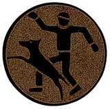 Hondentrainer sportprijzen afslag brons