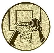 Basketbal afslag