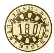 180 Darts afslag