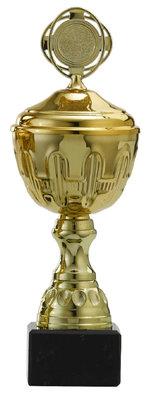 Sportprijs van goud met marmeren voet