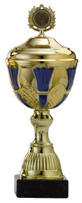 Gouden sportprijs met zwarte steen