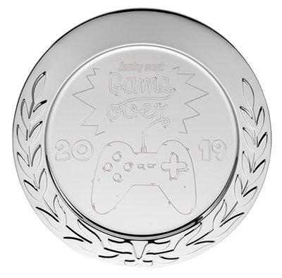 Metalen kampioensschaal inclusief eigen ontwerp