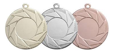 Medaille Goud, zilver of brons