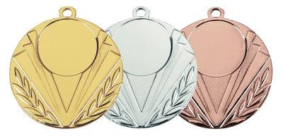 Medaille ijzer goud, zilver of brons