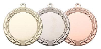 Grote luxe medaille in het goud, zilver of brons