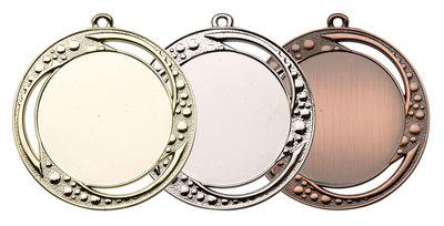 Grote medaille in het goud, zilver of brons