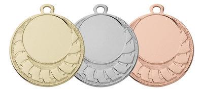 Medailles voordelig in het goud, zilver of brons
