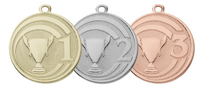 Medailles voor kampioenen