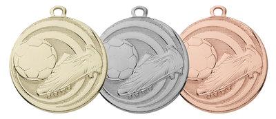Goedkope voetbal medailles