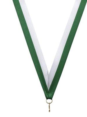 Medaille lint Groen-wit