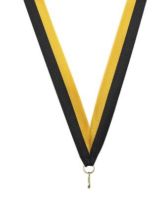 Medaille lint Geel-zwart