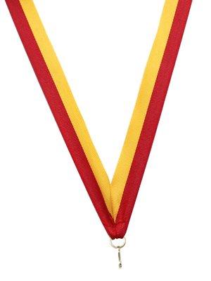 Medaille lint Rood-geel