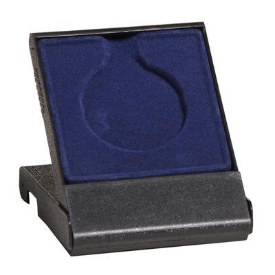 Medaille doosje blauw 50/70 mm