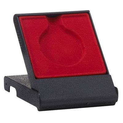 Medaille doosje rood 50/70 mm