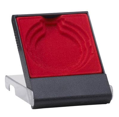 Medaille doosje rood 50/60/70 mm
