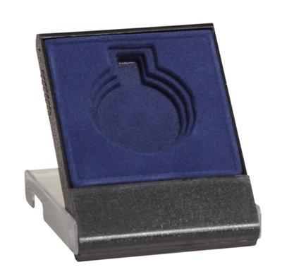 Medaille doosje blauw 50/60/70 mm