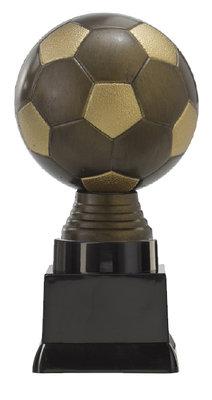 Voetbal sportprijs met antiek look