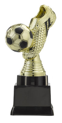 Voetbal sportprijs in 3 groottes