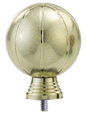 Basketbal opzetstuk in het goud luxe