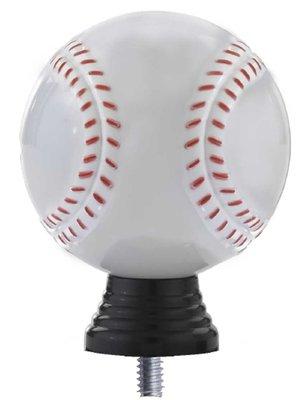 Honkbal opzetstuk in het wit Luxe