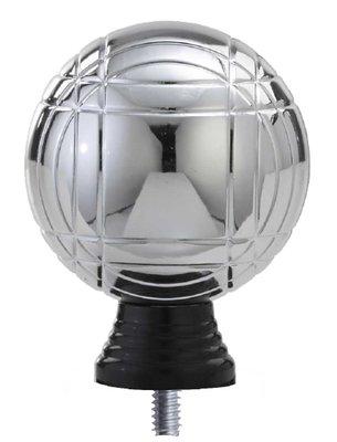 Jeu de boules opzetstuk in het zilver luxe