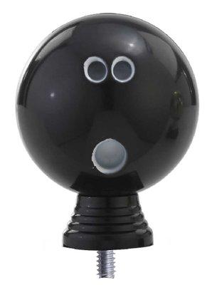Bowling opzetstuk in het zwart luxe