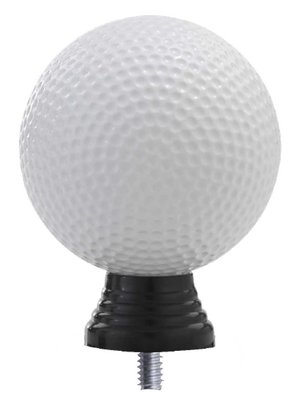 Golf opzetstuk in het wit luxe
