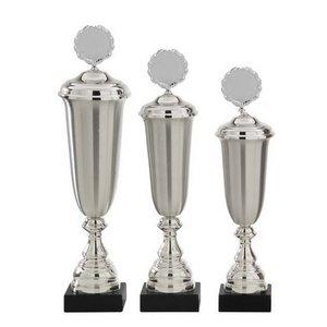 Luxe zilveren bokaal