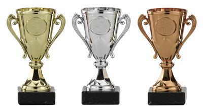 Sportprijs goud, zilver of brons
