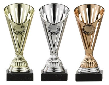 Sportprijs in het goud, zilver of brons