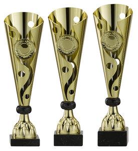 Gouden sportprijzen bokaal