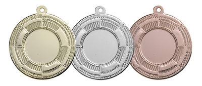 Budget medailles in het goud, zilver of brons