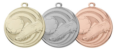 Budget voetbal medaille