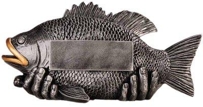 Vissen sportprijs inclusief gravering
